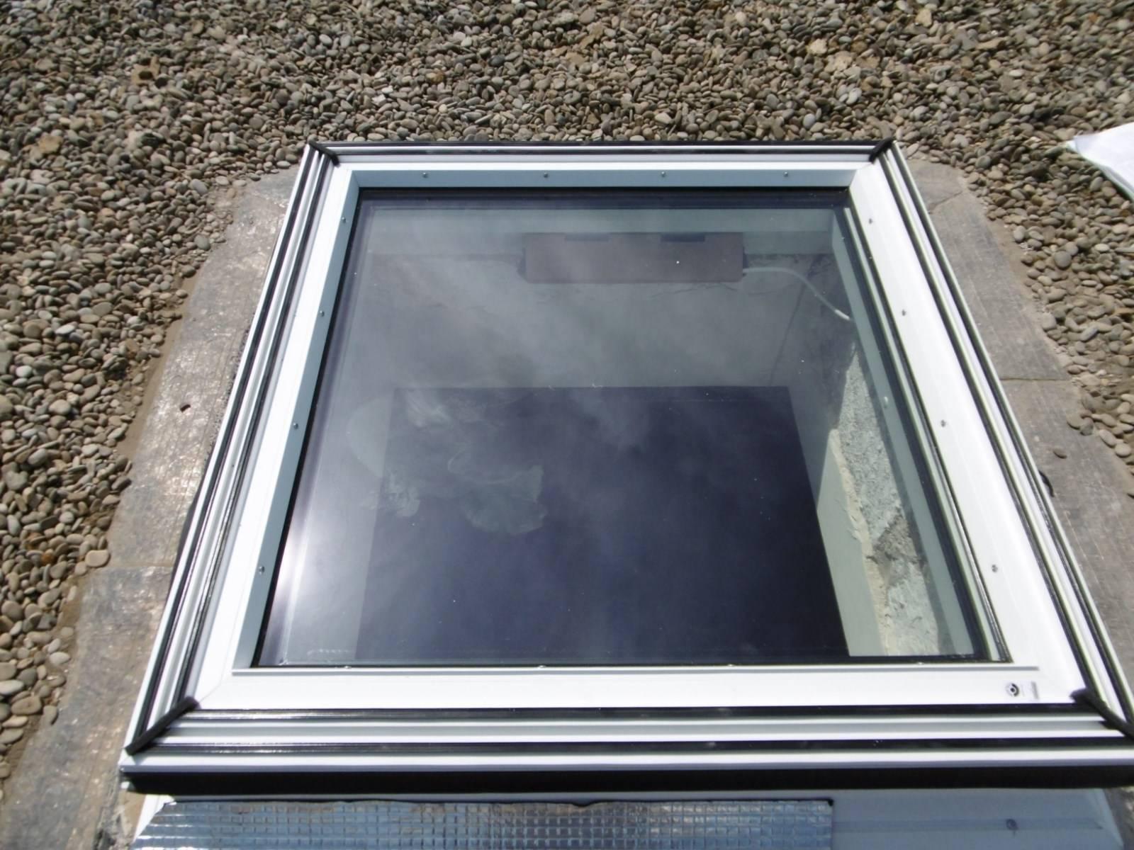 Remplacement de fen tres de toit sur un toit terrasse par for Fenetre de toit terrasse