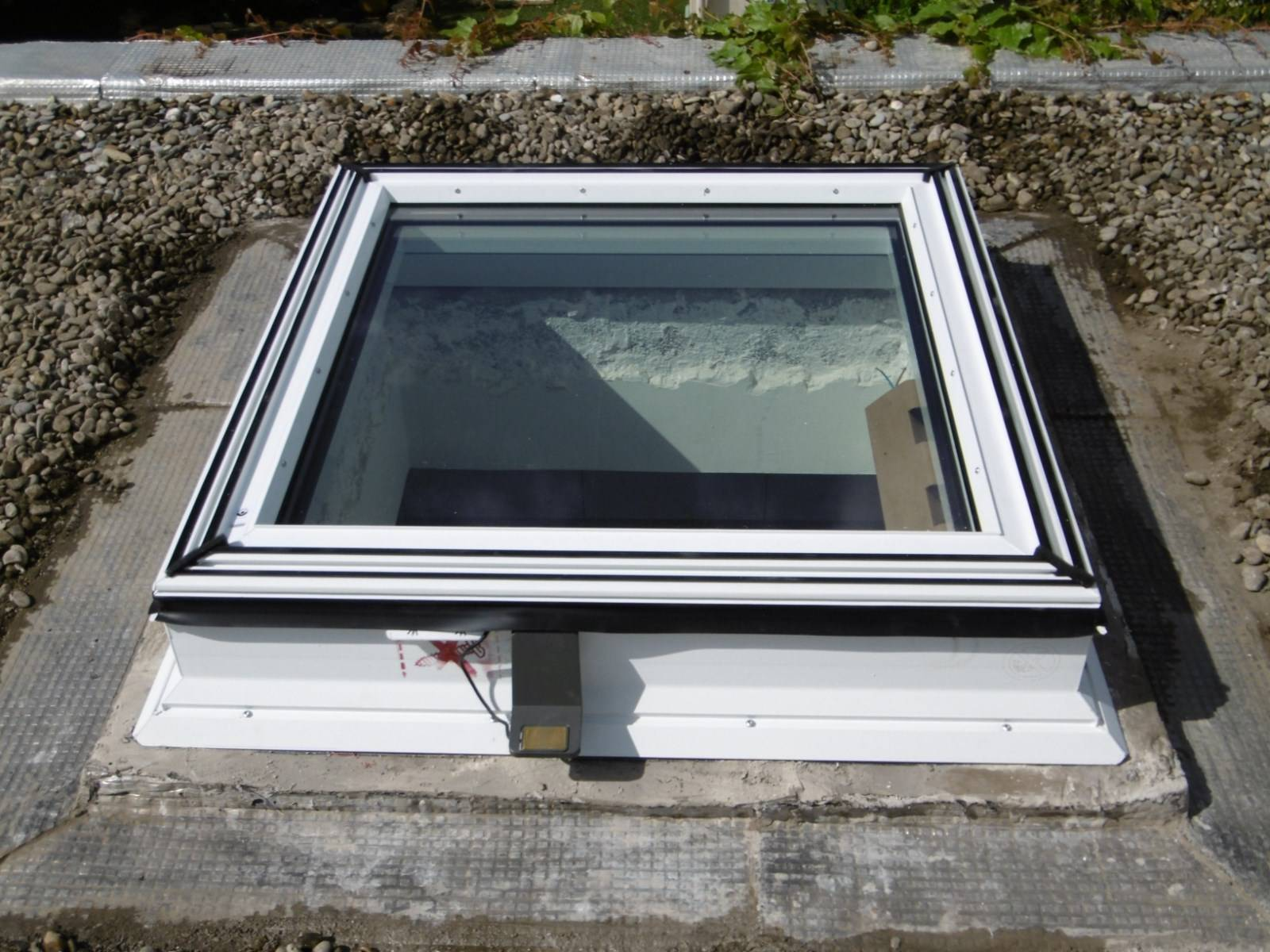 remplacement de fen tres de toit sur un toit terrasse par