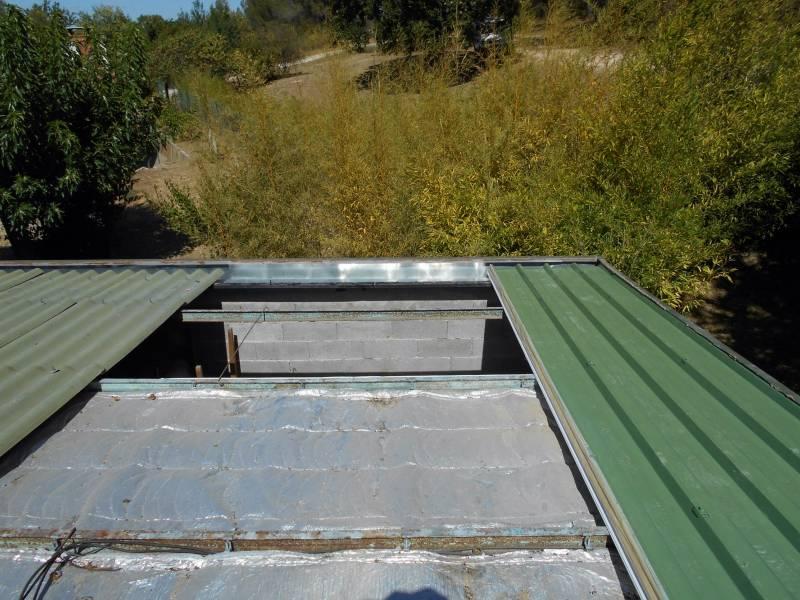 r novation d 39 une toiture en couverture bac acier par nos. Black Bedroom Furniture Sets. Home Design Ideas