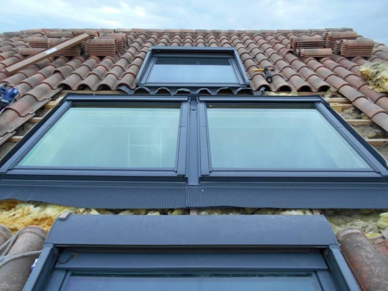 Pose et installation de fen tres de toit velux et for Velux sur toit plat